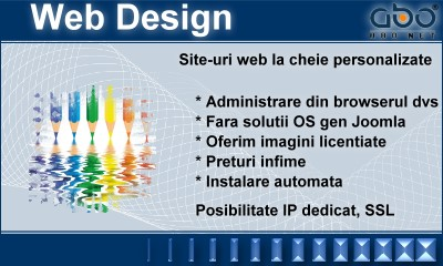 Web Design AUTOMATIC Hosting web hosting romania .ro .com